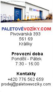 PaletovéVozíky.com - kontakt